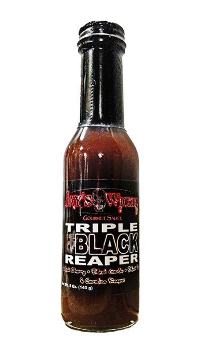 Triple Black Reaper Bottle Close Up